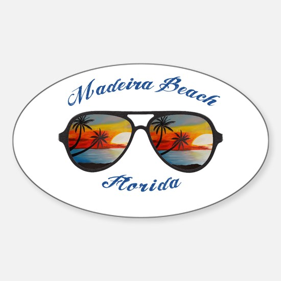 Florida - Madeira Beach Decal