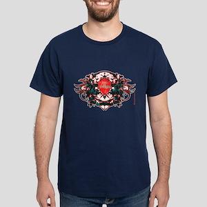 Twilight Love Crest Dark T-Shirt