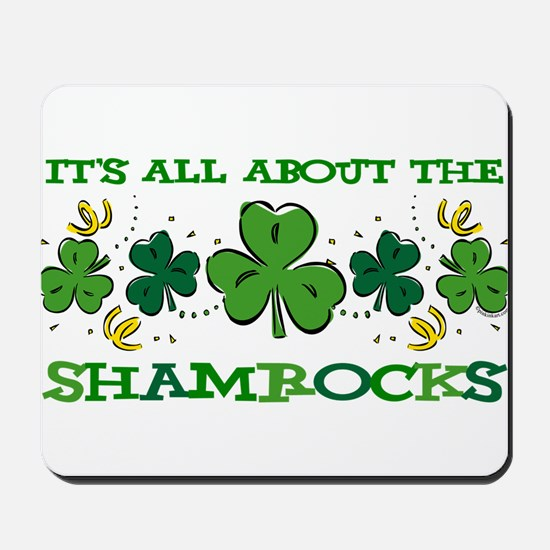 About The Shamrocks Mousepad