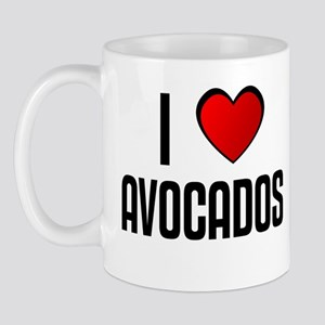 I LOVE AVOCADOS Mug