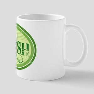 Green Irish Beer Mug