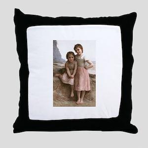 Bouguereau Throw Pillow