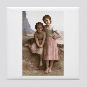 Bouguereau Tile Coaster