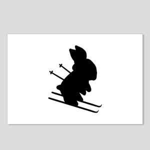 Ski Bunny Postcards (Package of 8)