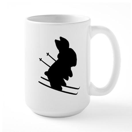 Ski Bunny Large Mug