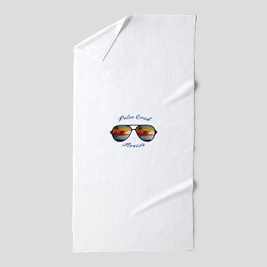 Florida - Palm Coast Beach Towel