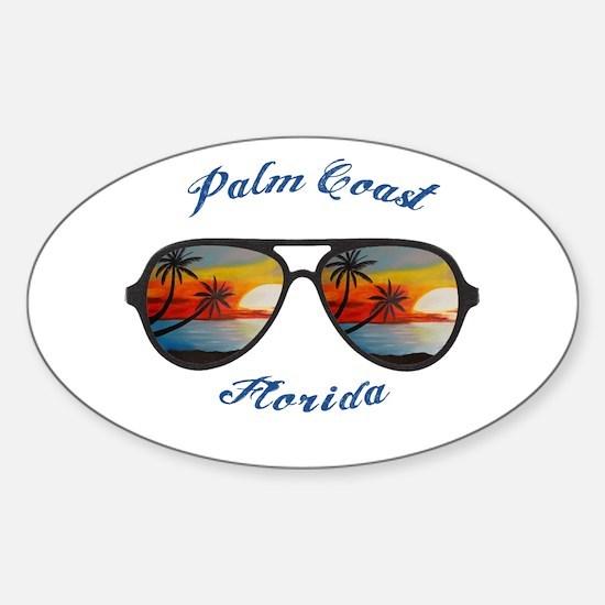 Florida - Palm Coast Decal