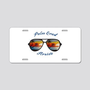 Florida - Palm Coast Aluminum License Plate