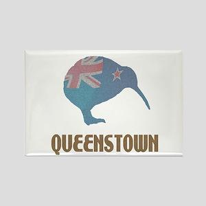 Queenstown New Zealand Rectangle Magnet