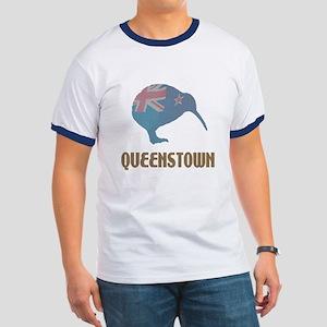 Queenstown New Zealand Ringer T Shirt