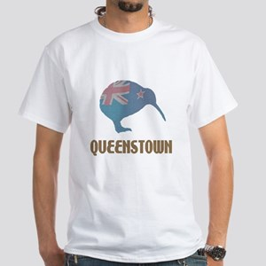 Queenstown New Zealand White T-Shirt