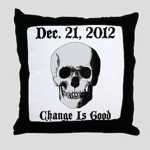 Dec 21 2012 Throw Pillow