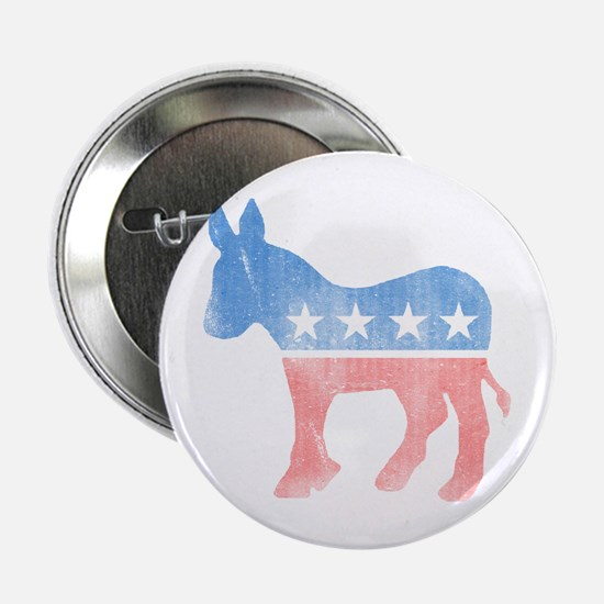 "Democratic Donkey 2.25"" Button"