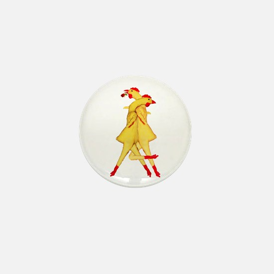 Rubber Chicken Tango Mini Button