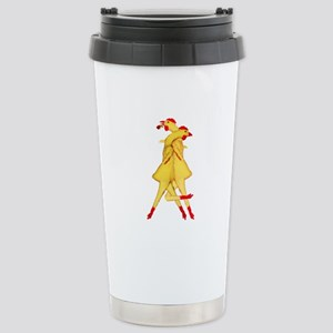 Rubber Chicken Tango Stainless Steel Travel Mug