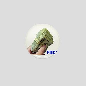 Focus on Money Mini Button