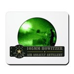 Towed Howitzer Mousepad