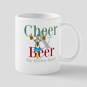 Cheer Beer Holiday Spirit 11 oz Ceramic Mug
