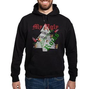 ugly christmas party sweatshirts hoodies cafepress - My Ugly Christmas Sweater