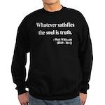 Walter Whitman 13 Sweatshirt (dark)