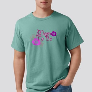 Mom To Be Mens Comfort Colors® Shirt