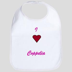 Heart Coppelia Bib