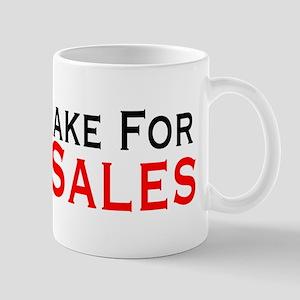 Will Brake For Yard Sales 11 oz Ceramic Mug