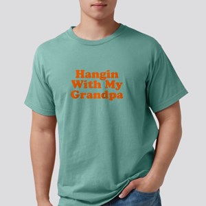 Hanging With My Grandpa Mens Comfort Colors® Shirt
