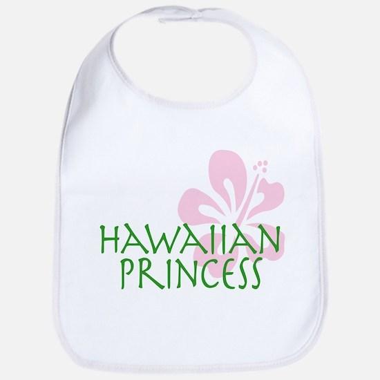 Hawaiian Princess bib