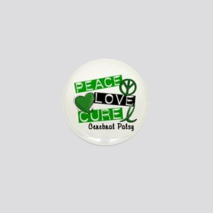PEACE LOVE CURE Cerebral Palsy (L1) Mini Button