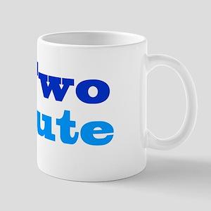 Two Cute 11 oz Ceramic Mug