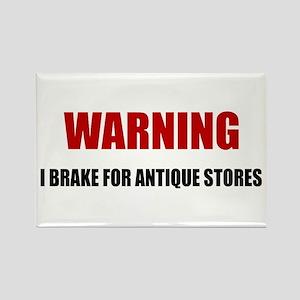 I Brake for Antique Stores Magnets