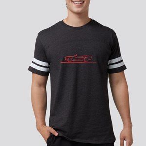64_66_Mustang_Conv_Red T-Shirt