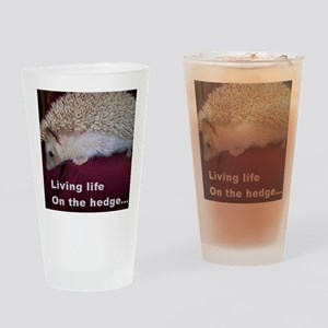 onthehedge Drinking Glass