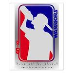 40-oz Logo - Small Poster