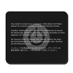 Kernel Panic Mousepad