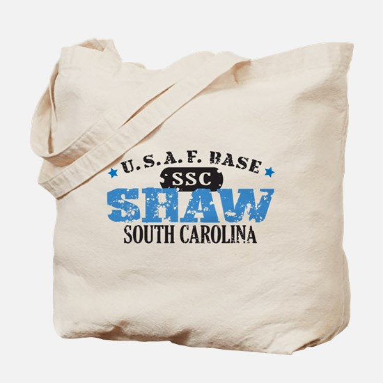 Shaw Air Force Base Tote Bag
