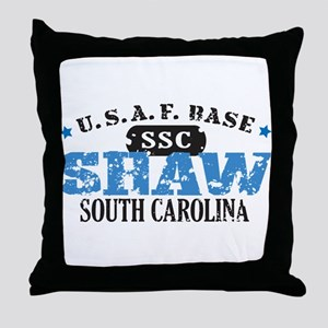 Shaw Air Force Base Throw Pillow