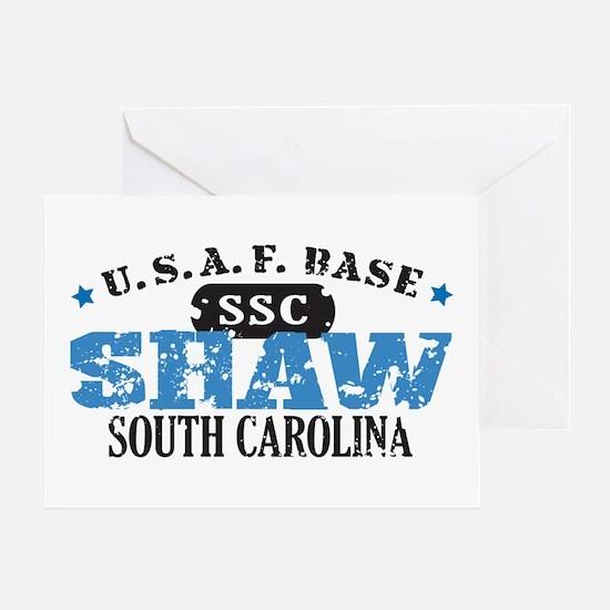 Shaw Air Force Base Greeting Card