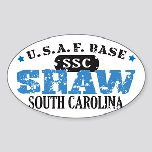 Shaw Air Force Base Oval Sticker