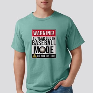 16 Year Old In Baseball Mode T-Shirt