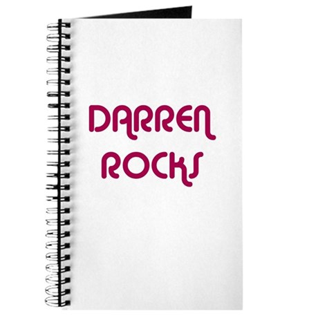 DARREN ROCKS Journal