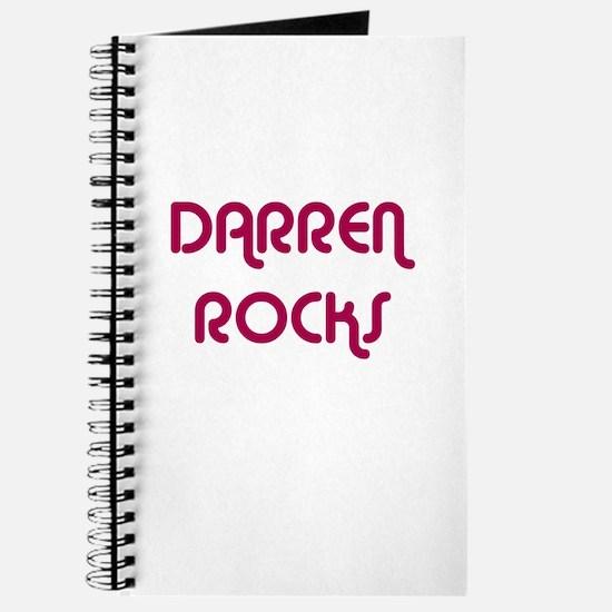 DARREN ROCKS Journal