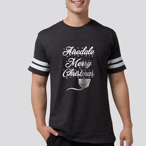 Airedale Terrier Merry Christmas Dog Xmas T-Shirt