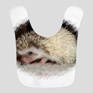 Pretty Pinto Hedgehog Polyester Baby Bib