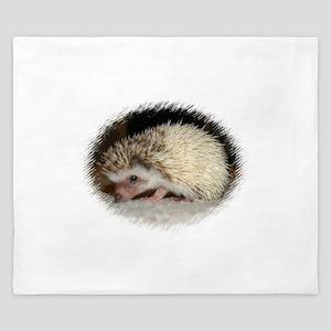 Pretty Pinto Hedgehog King Duvet