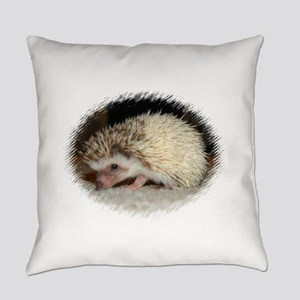 Pretty Pinto Hedgehog Everyday Pillow