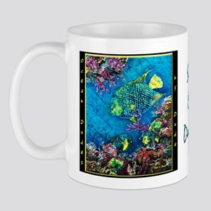 Queen Angelfish Mug
