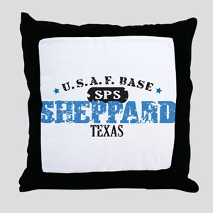 Sheppard Air Force Base Throw Pillow