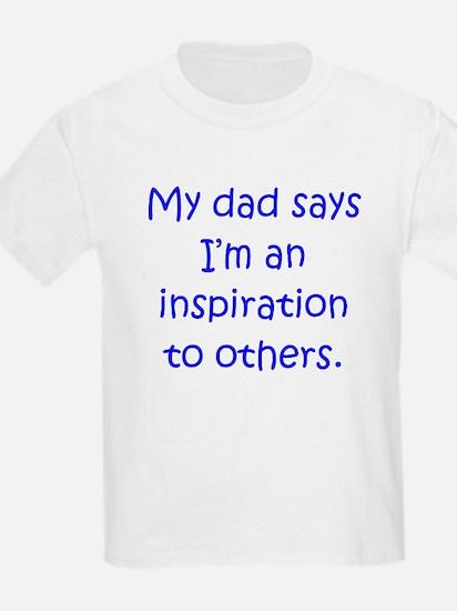 Dad Inspiration Boy T-Shirt